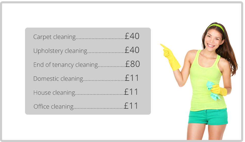 cleaning at lowest prices in kt1